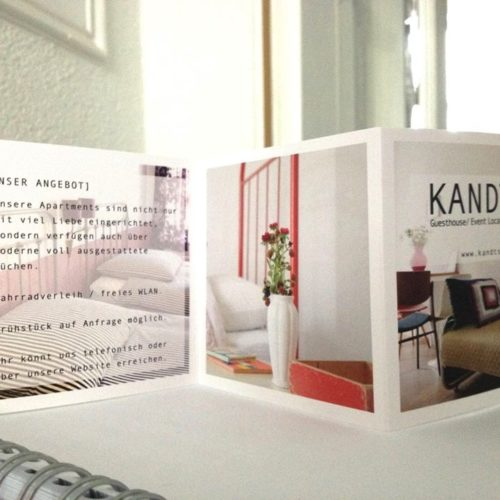 FLYER DESIGN - print - Kandts Guest House