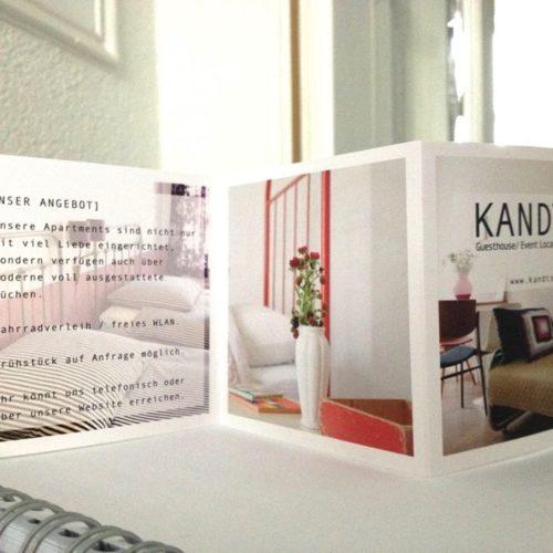 FLYER DESIGN - print - Kandts Guest House