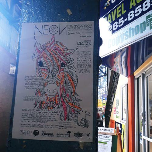 Neon - Mango Room - San Juan - Poster (2)